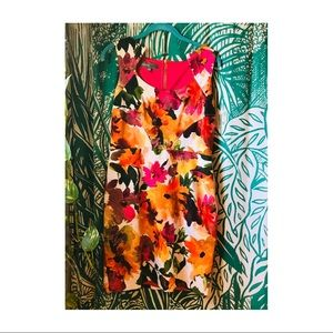 Donna Ricco NY floral dress size 6